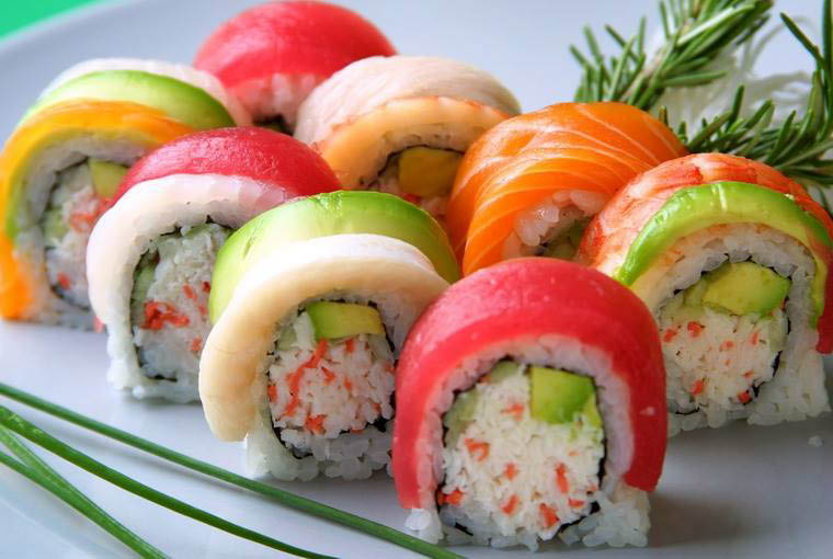 Huge variety of sushi from Sapporo Japanese Steakhouse & Sushi in University Place, Washington - sushi restaurants near me