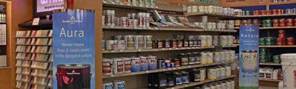 Saratoga Ace Hardware can match your paint color from a color swatch