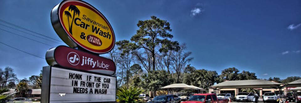 Savannah Car Wash & Detail Center - Front of Business