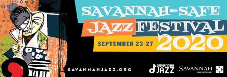 Savannah Jazz Festival online streaming banner