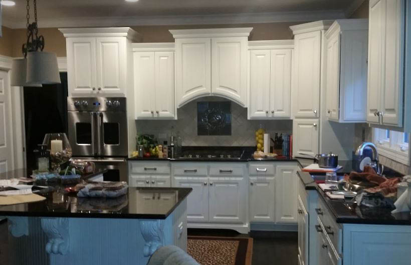 Take your outdated kitchen cabinets and reface or refinish them to a new look that will modernize your entire kitchen.You can even get hidden hinges for your cabinets without changing your doors.