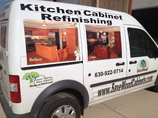 For those who do want new doors, we carry low-cost options to suit your style and your budget. We also offer small carpentry detailing so you can have the kitchen of your dreams.  We only refinish bathroom vanities if we are refinishing the kitchen.