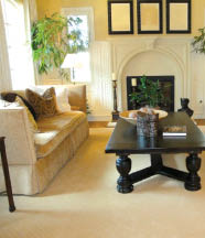 Replace your hardwood flooring with carpet flooring in Vista
