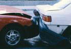 photo of car crash representing auto insurance from Schuler Insurance Agency in Novi, MI