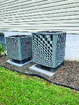 New HVAC system installation by Schuler Heating & Air Conditioning