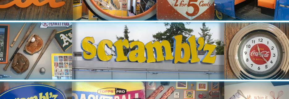 Scrambl'z Diner in Morgan Hill, CA banner collage image