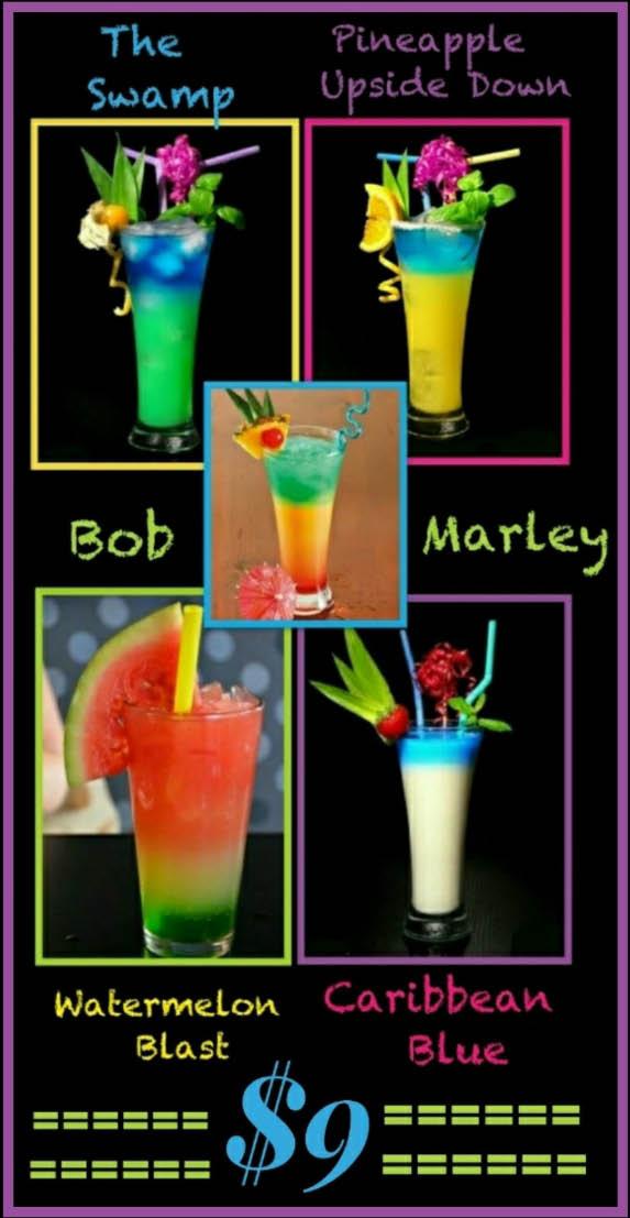 Shaq's Lounge serves up delicious cocktails.