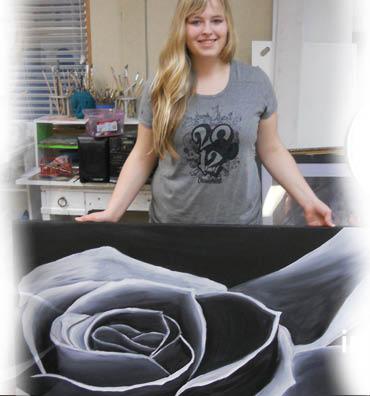 Fine art Inspire! Studio for the intermediate to advanced student.