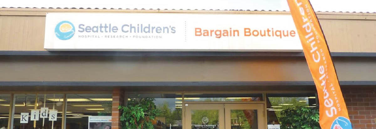 Seattle Children's Hospital Bargain Boutiques main banner image - Seattle, WA