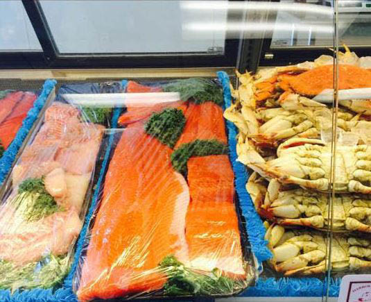 Quality seafood from Harbor Farms Meats & Seafood - fresh crab - fresh salmon - fresh seafood - Gig Harbor, WA