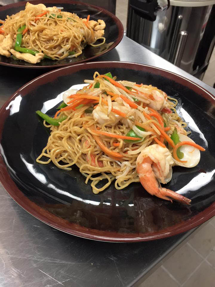 Seafood Stir Fry at Ichiddo St. Paul, MN Ramen