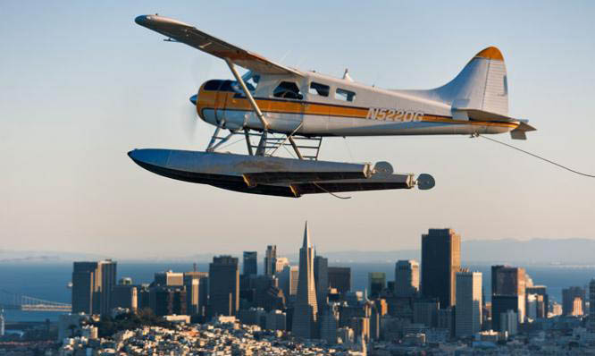 Explore the San Francisco Bay Area from the air with Seaplane Adventures of Mill Valley, CA