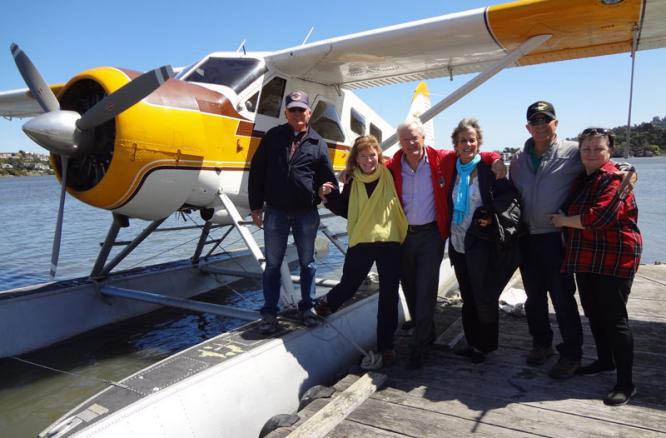 Seaplane Adventures - Family group photo Corte Madera, CA