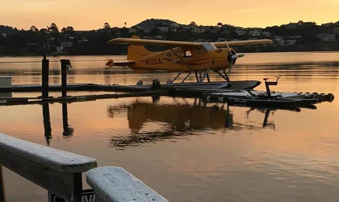 Come on board with Seaplane Adventures near Sausalito, CA