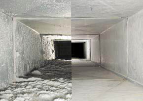 Air duct cleaning in Port St Lucie