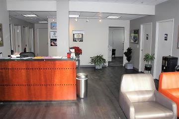 Lobby of Seattle Automotive - Seattle auto body shop - Seattle auto collision shop - Seattle, Washington
