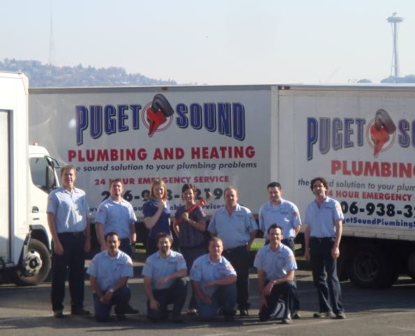 Puget Sound Plumbing and Heating crew - quality plumbers in Seattle, Washington - Seattle plumbers