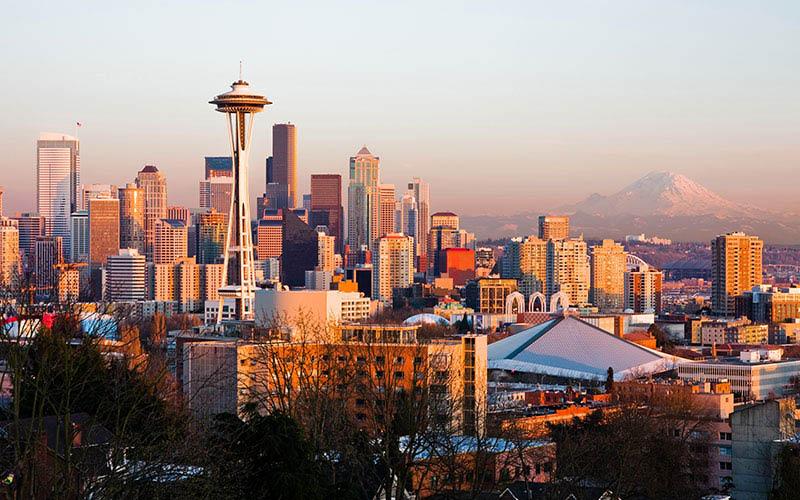 Seattle, Washington skyline - Washington Dental Group - local dentists - convenient locations - University Place Smiles