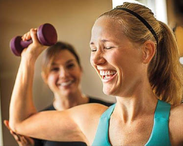 Strength training and personal training at Anytime Fitness - Seattle, WA - upper Queen Anne