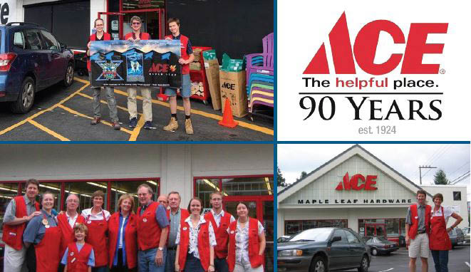 Friendly staff greeting customers at Maple Leaf Ace in Seattle, Washington - Ace hardware stores near me - hardware store coupons near me