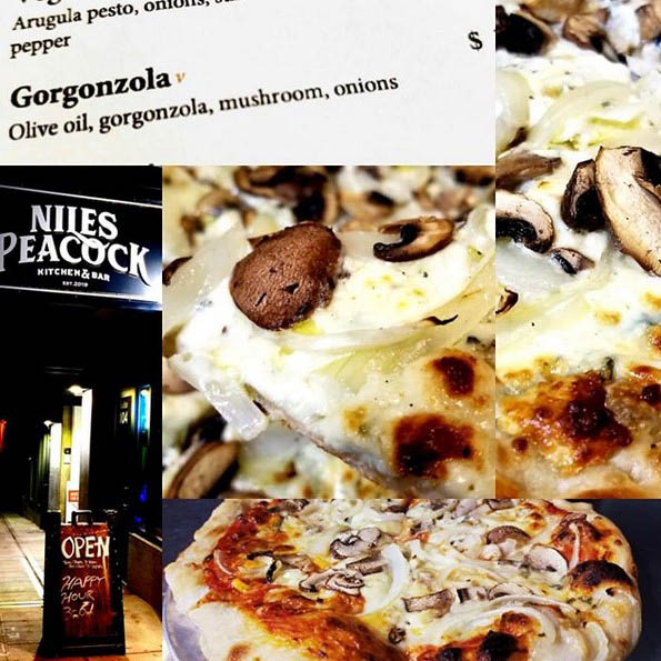 Mouth-watering pizza from Niles Peacock Kitchen & Bar in Seattle, WA - Wallingford - pizza near me - restaurant coupons near me - dining coupons near me - Seattle restaurants near me - dining in Wallingford - restaurants in Wallingford