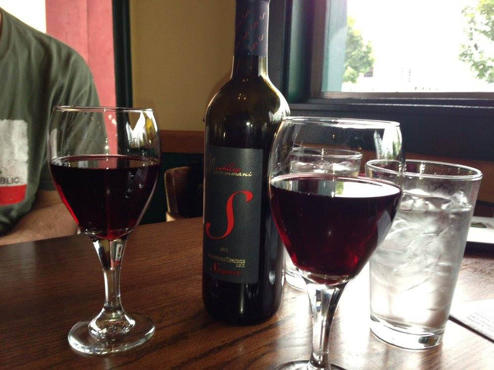 Over 100 wines to choose from at Pasta Freska Italian Restaurant in Seattle, WA - Queen Anne Italian restaurants