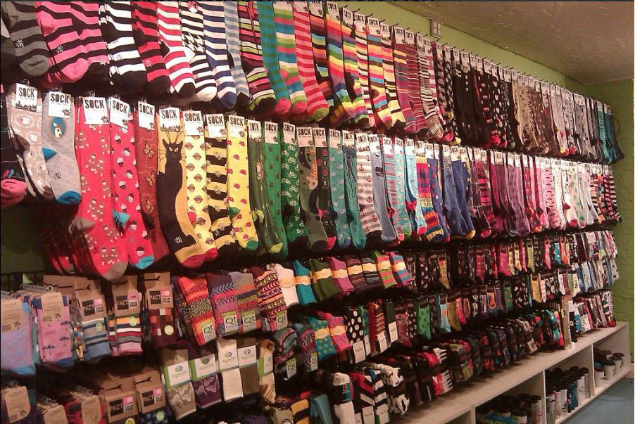 The Sock Monster - Sock store - socks store - huge selection of socks - largest collection of socks in Seattle, WA