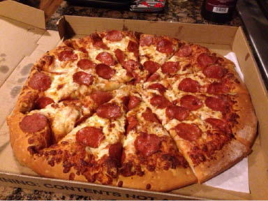 Stacia's Gourmet pizza is available for delivery and carryout