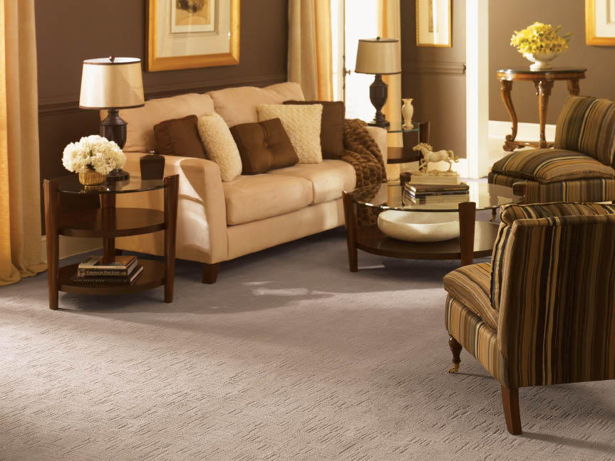 Carpet selection with carpet installation coupons