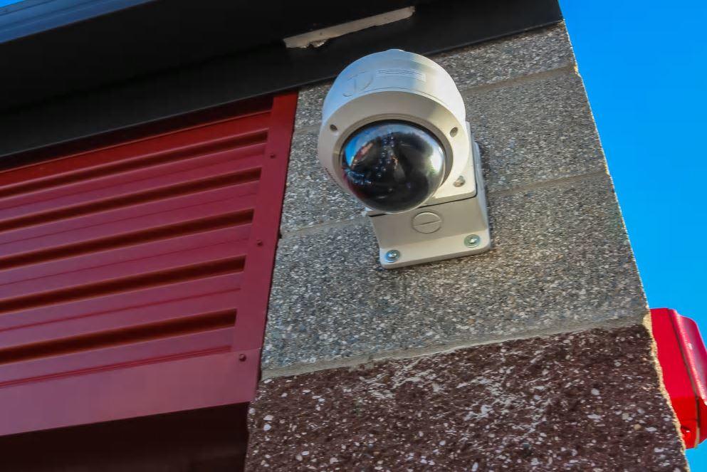 Security cameras monitor activity at Self Storage @ Tehaleh in Bonney Lake, WA - Bonney Lake storage facilities