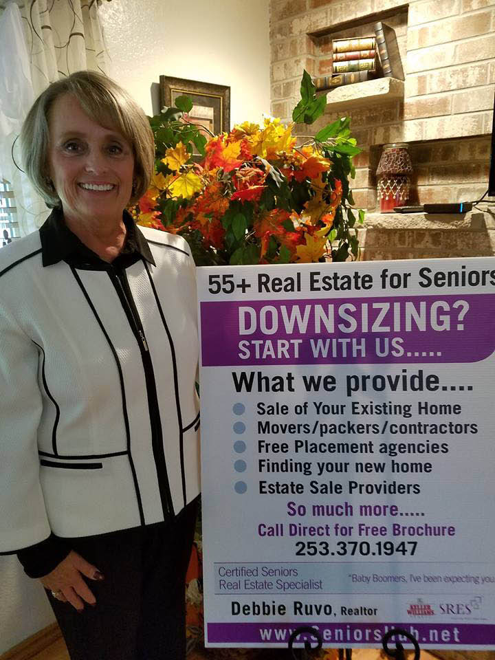 Debbie Ruvo - Realtor - Real Estate Broker - 55+ Real Estate for Seniors - Certified Seniors Real Estate Specialist - helping seniors downsize and right-size to a new home