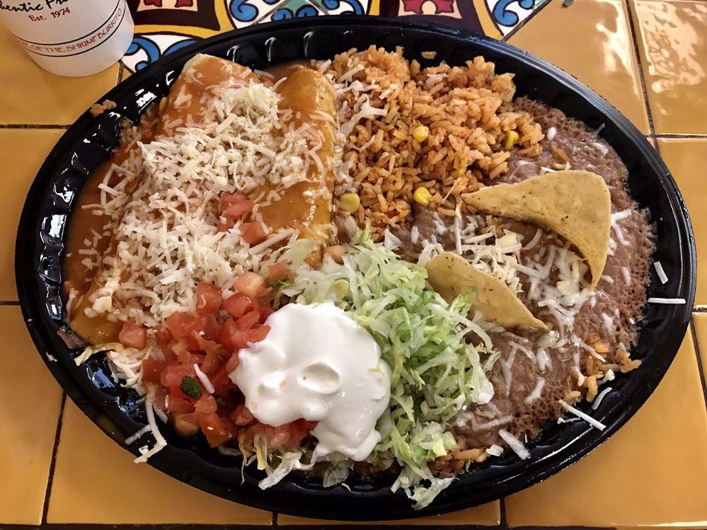 Catering menu, Enchiladas, tacos, burritos, chicken and enchilada,