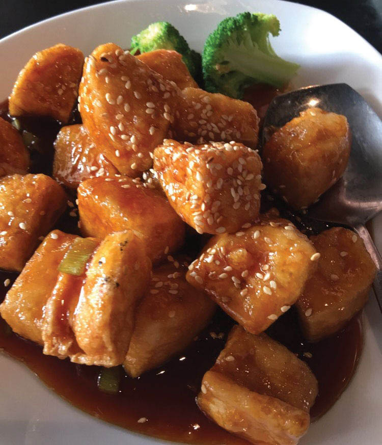 Sesame tofu bistro han coupons fairport ny coupon