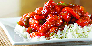 Chinese Food Sweet and Sour Chicken Rice Shanghai Restaurant Rochester NY