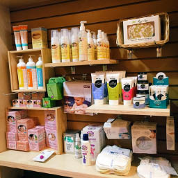 Natural skincare products for children at EcoBambino