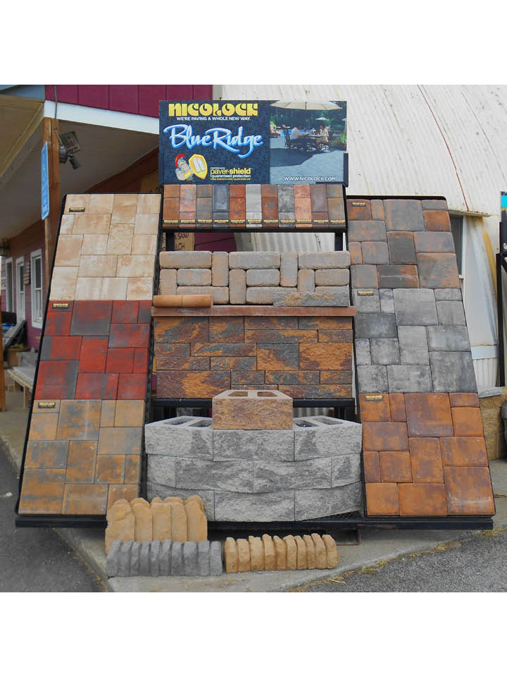 Sand, stone, and pavers in Stephens City, VA