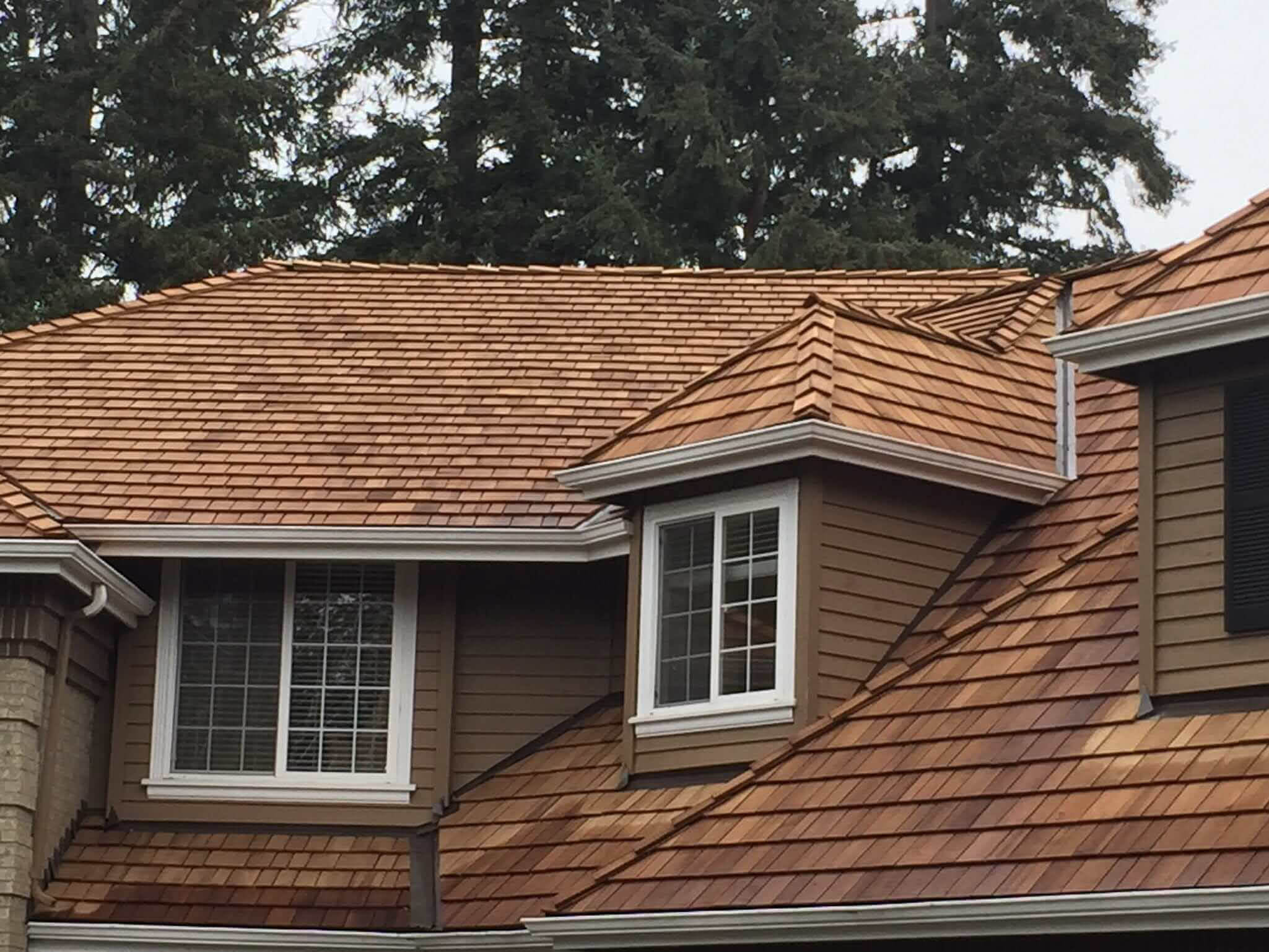 Sherpa Roofing & Construction - Cedar Shake Roof - new roof - Woodinville roofers - roofing company