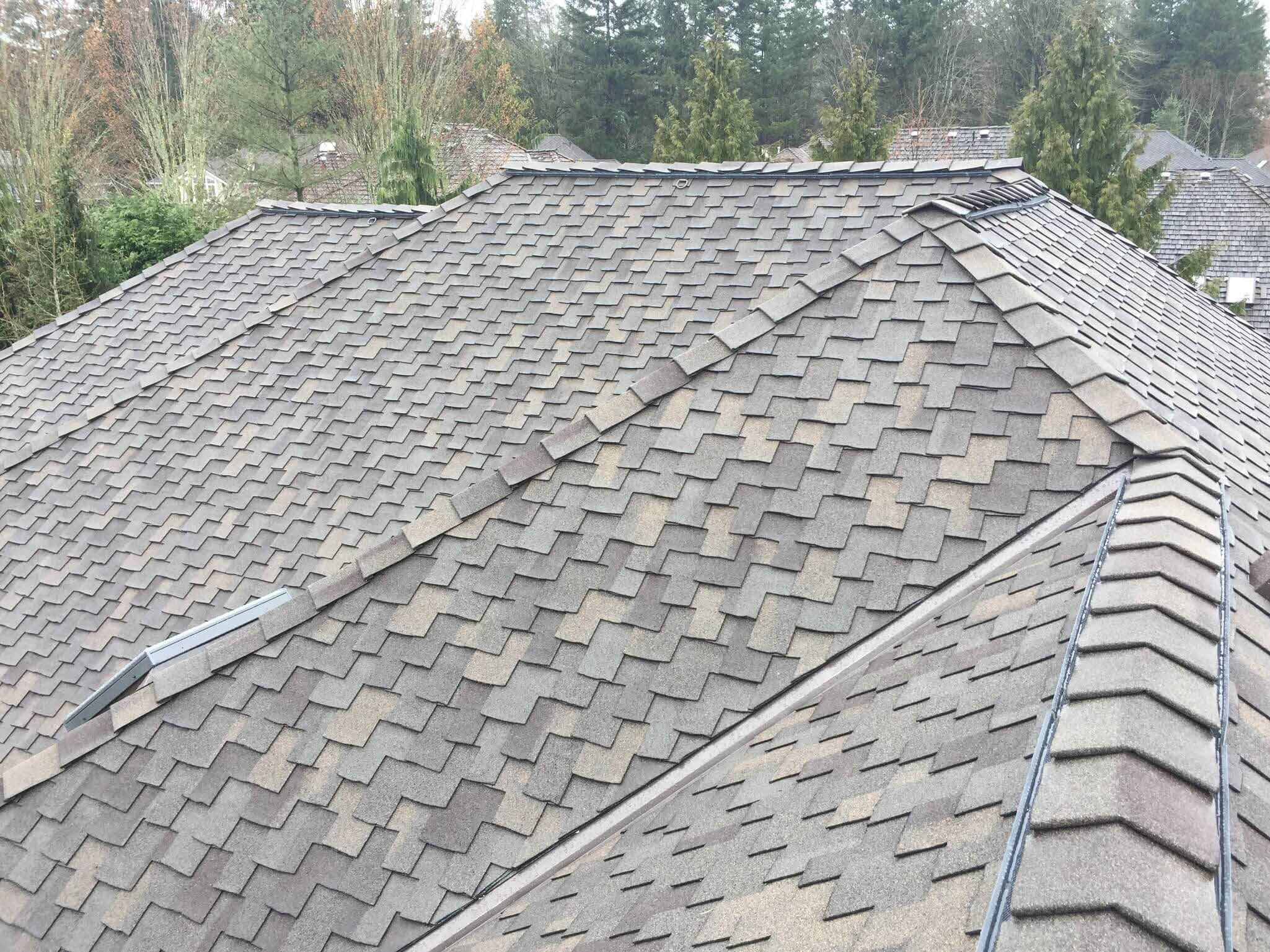 Composition roof - composite roof - Sherpa Roofing & Construction - roof repair - roof installation - roof maintenance - Woodinville, WA