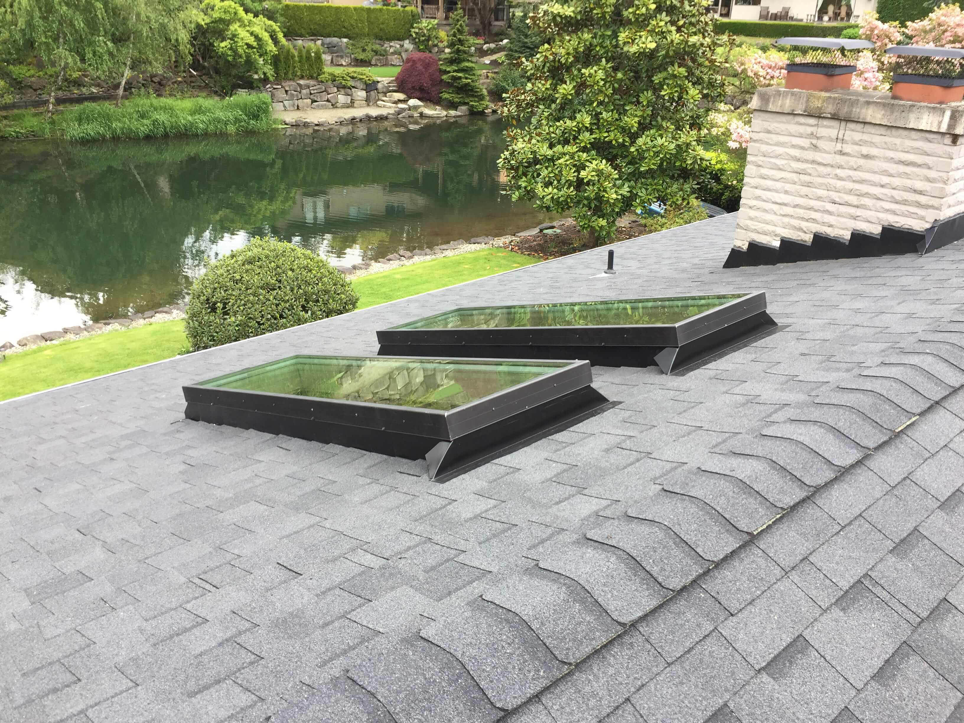 Custom roofing and carpentry - skylights - Sherpa Roofing & Construction - professional roofers in Woodinville, WA - Woodinville roofing company