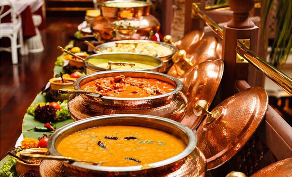 Equipped with Full Bar, We Serve both Vegetarian, and Non Vegetarian Menu