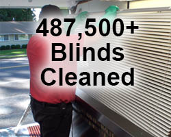 Blind cleaning by Shine-a-Blind America in Edmonds, WA - blind cleaning on site or in our Edmonds location
