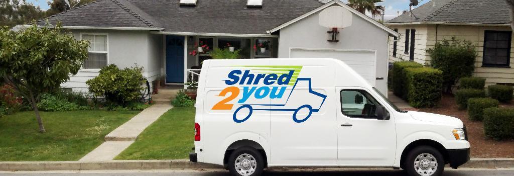 Shred2You in Santa Maria, CA banner ad