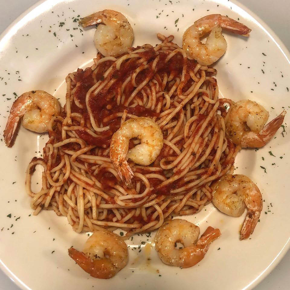 Marsel's Italian Restaurant Milwaukee WI Shrimp Spaghetti
