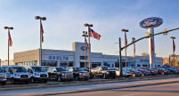 Photo of Shults Ford dealership located in Wexford PA and Harmarville PA
