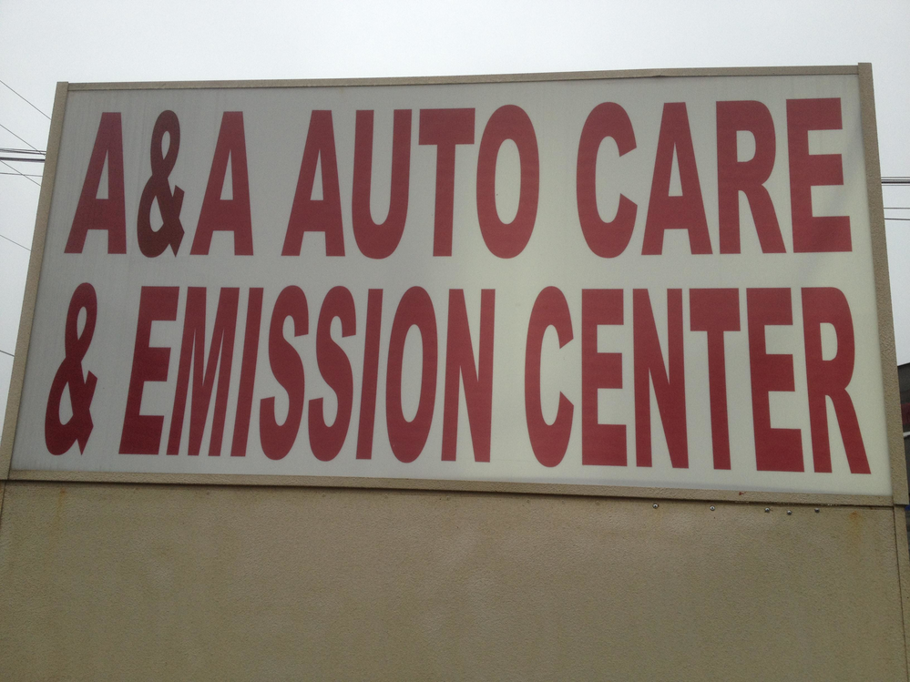 A & A Auto Care sign Kennesaw, GA