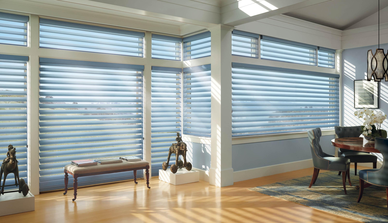 Silhouette Window Shadings available at Aero Drapery