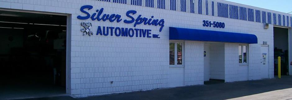 Silver Spring Automotive Glendale WI banner