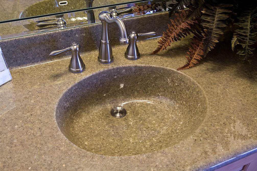 Silverado Showers - bathroom sink - beautiful bathroom vanity - bathroom remodeling - Fife, WA