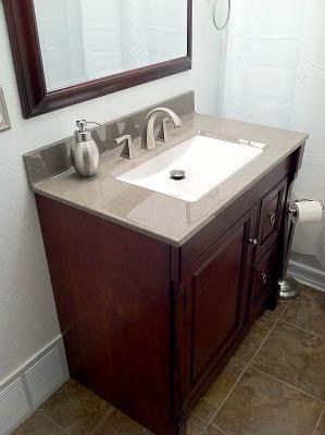 Bathroom vanity - Silverado Showers - Fife, WA - bathroom remodelers - home improvement
