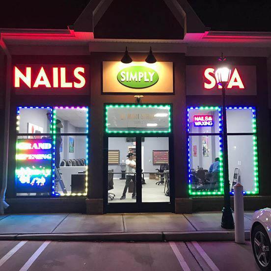 nails, manicure, color, design